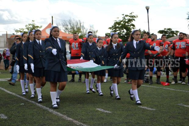 Presente la bandera de México para ser bien representada por los Yaks de Hermosillo. - International Arena Bowl 2017
